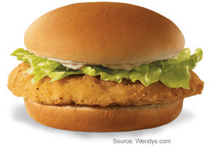 Review of the Wendy's Dollar Menu   Crispy Chicken Sandwich   Fast Food Menu Prices