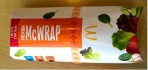 Nutrition Facts about McDonald's