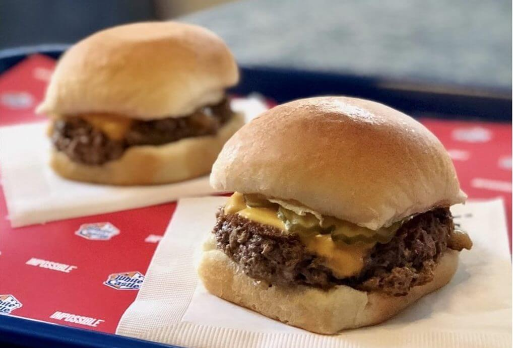 Where to Get the Best Vegan Fast Food Items   Vegan Impossible Slider   FastFoodMenuPrices.com