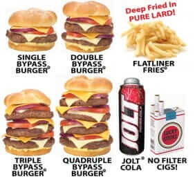 fast food restaurants in the US