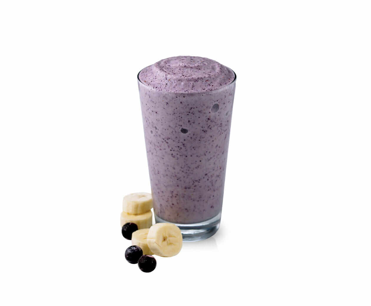 Healthy Choices At Cold Stone Creamery | Blueberry Banana Smoothie | FastFoodMenuPrices.com