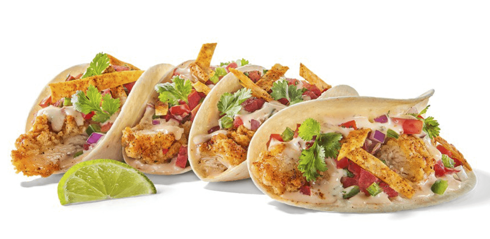 What to Order at Buffalo Wild Wings if You Don't Want Wings | Crispy BBQ Chicken Tacos | FastFoodMenuPrices.com