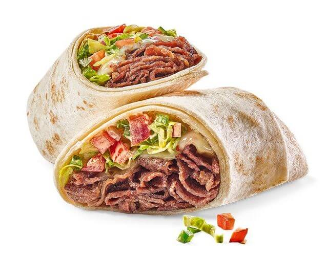 What to Order at Buffalo Wild Wings if You Don't Want Wings | Pepper Jack Steak Wrap | FastFoodMenuPrices.com