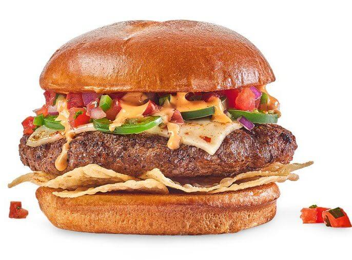 What to Order at Buffalo Wild Wings if You Don't Want Wings | Screamin' Nacho Burger | FastFoodMenuPrices.com