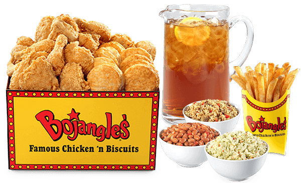 Best Fast Food Meals for the Whole Family   20-Piece Jumbo Tailgate - Bojangels'   FastFoodMenuPrices.com