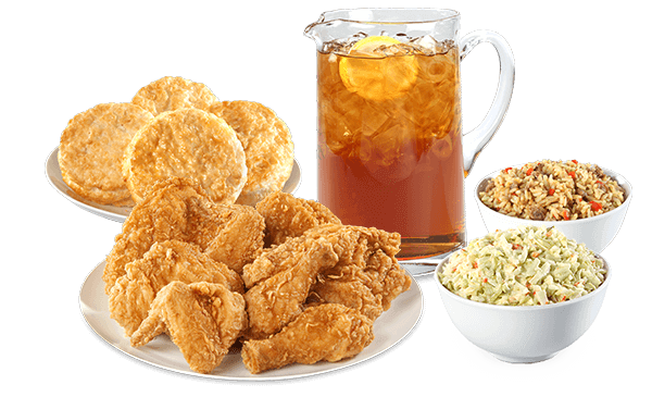 Best Bang for the Buck: Fast Food Fried Chicken | 8-Piece Tailgate Special - Bojangles' | FastFoodMenuPrices.com