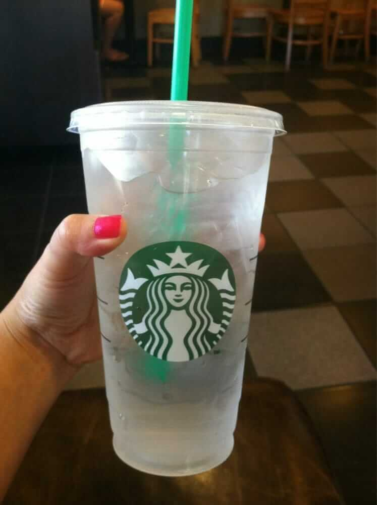 Fast Food Hacks to Make Your Meal Even Better | Venti Water at Starbucks | FastFoodMenuPrices.com