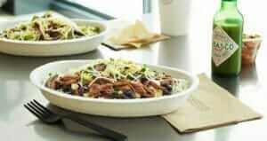 12 Healthy Fast Food Options   Chipotle Bowl   Fast Food Menu Prices.com