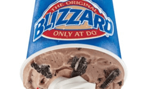 Oreo Blizzard from DQ | Fastfoodmenuprices.com