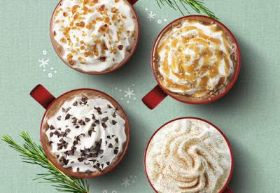 Starbucks is one of the restaurants open on Thanksgiving Day