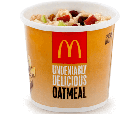 8 McDonald's Healthy Choices   Oatmeal   FastFoodMenuPrices.com