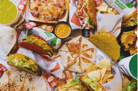 Low Sodium Fast Food: Your Best Options | Taco Bell | FastFoodMenuPrices.com
