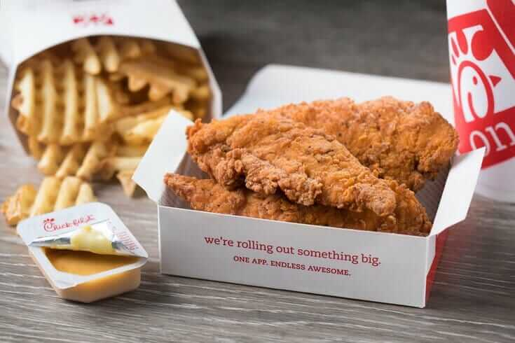 Chick Fil A Prices