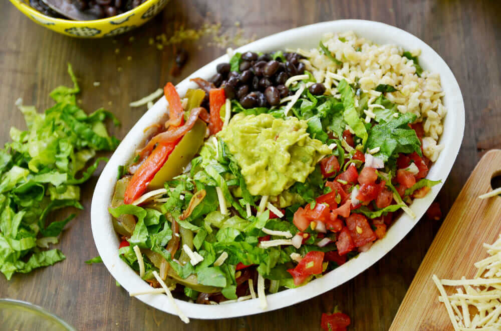 Top 11 Low-Calorie Fast Food Options   Chipotle   FastFoodMenuPrices.com