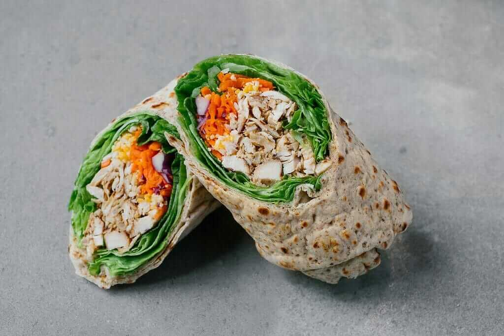 Top 11 Low-Calorie Fast Food Options   Chick Fil A Grilled Cool Wrap   FastFoodMenuPrices.com