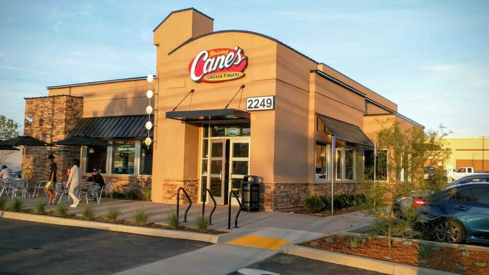 The Top 10 Fastest Drive-Through Restaurants in America   Raising Cane's   FastFoodMenuPrices.com