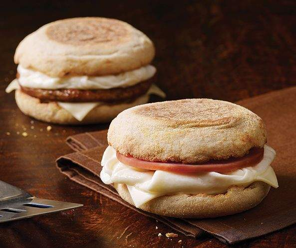 Healthiest Fast Food Breakfast Items   Egg White Delight   FastFoodMenuPrices.com