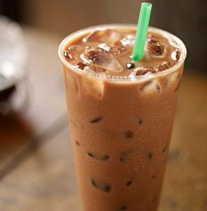 The Healthiest Options at Starbucks | Iced Skinny Mocha | Fastfoodmenuprices.com