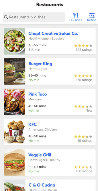 10 Best Food Delivery Apps For Every Need | GrubHub | FastFoodMenuPrices.com