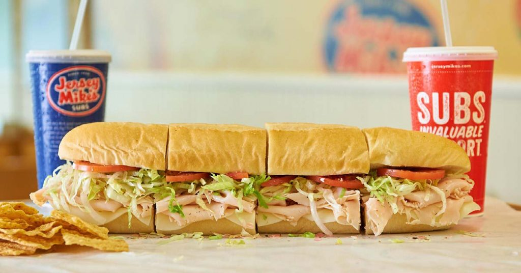 Best Fast Food in Each State   Jersey Mike's   FastFoodMenuPrices.com