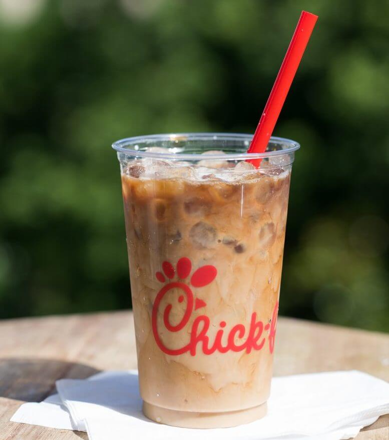 Best Fast Food Iced Coffee To Get You Through Summer   Chick-Fil-A Iced Coffee   FastFoodMenuPrices.com