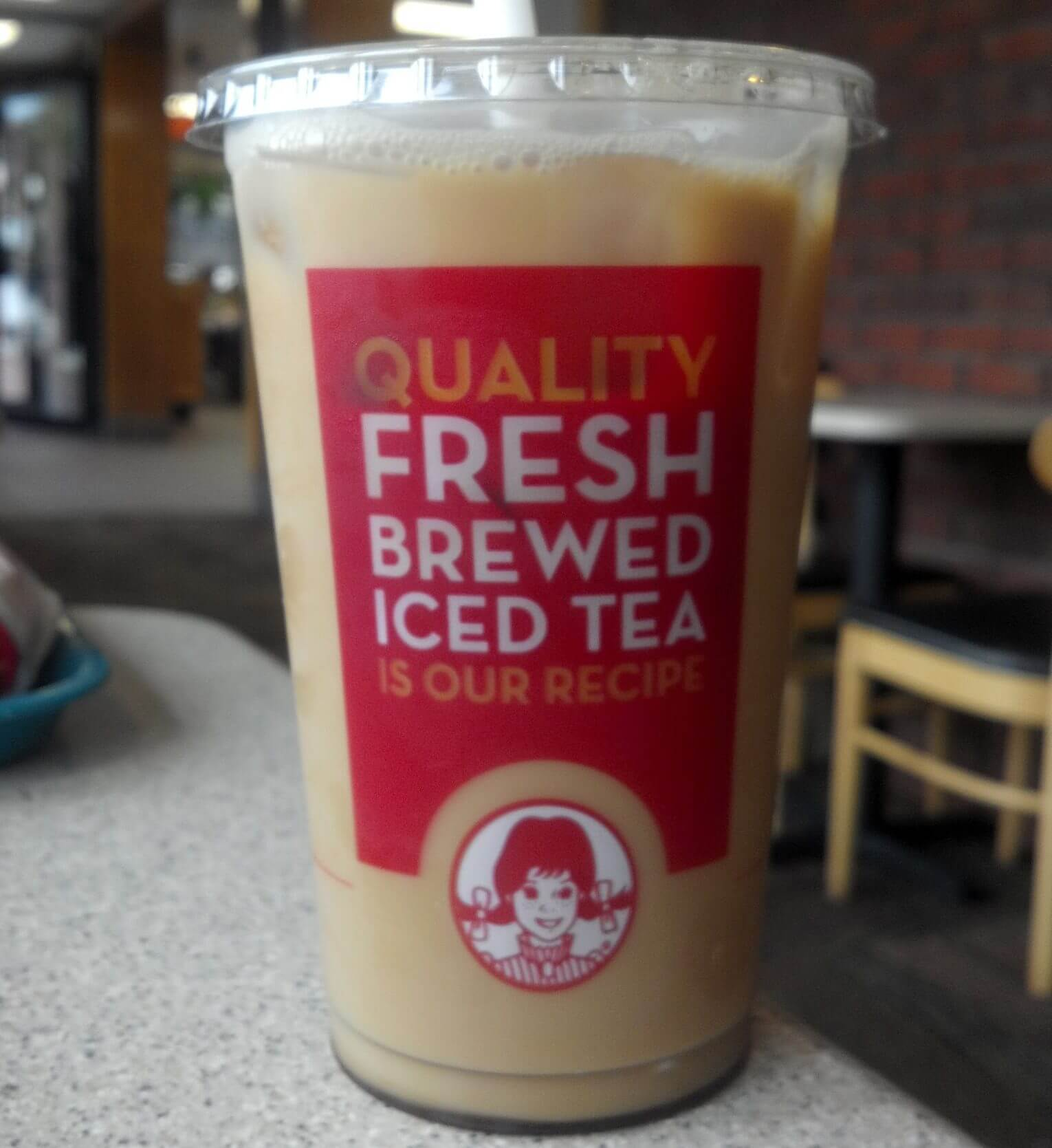Best Fast Food Iced Coffee To Get You Through Summer   Wendy's Iced Coffee   FastFoodMenuPrices.com