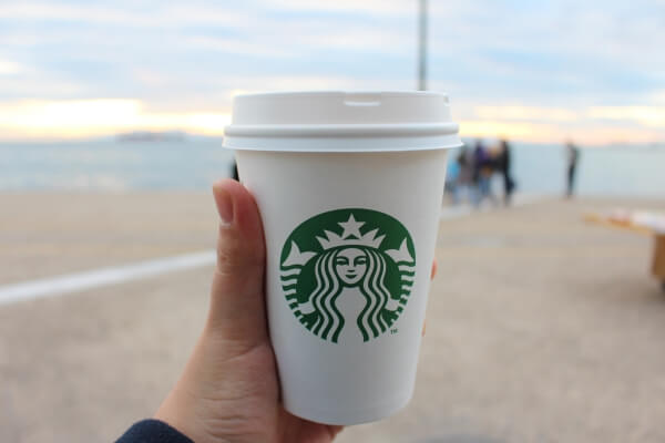 Starbucks Happy Hour offers frappuccinos, espresso drinks, and teas.