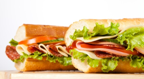 The Top 54 Fast Food Items in the Nation   Subway Italian BMT   FastFoodMenuPrices.com
