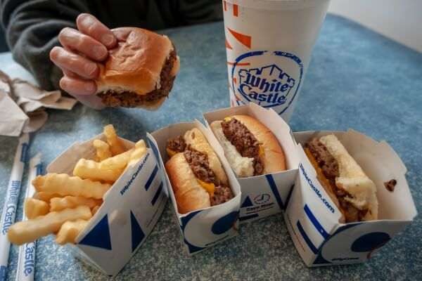 9 Meatless Burgers That Taste Just Like the Real Thing   White Castle Impossible Sliders   FastFoodMenuPrices.com