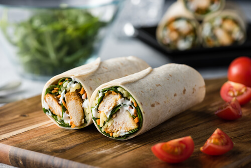 Chick Fil A Cool Chicken Wrap