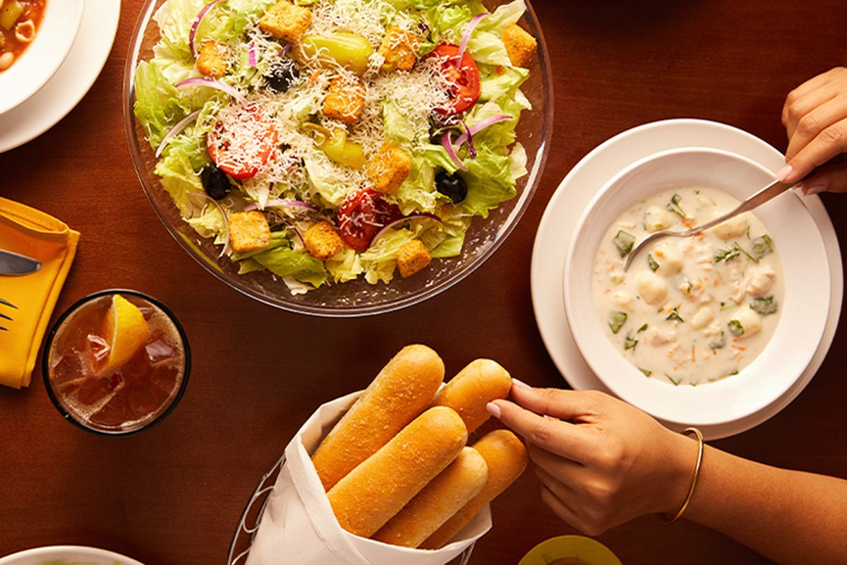 olive garden christmas takeout