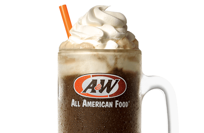 A&W Rootbeer Float