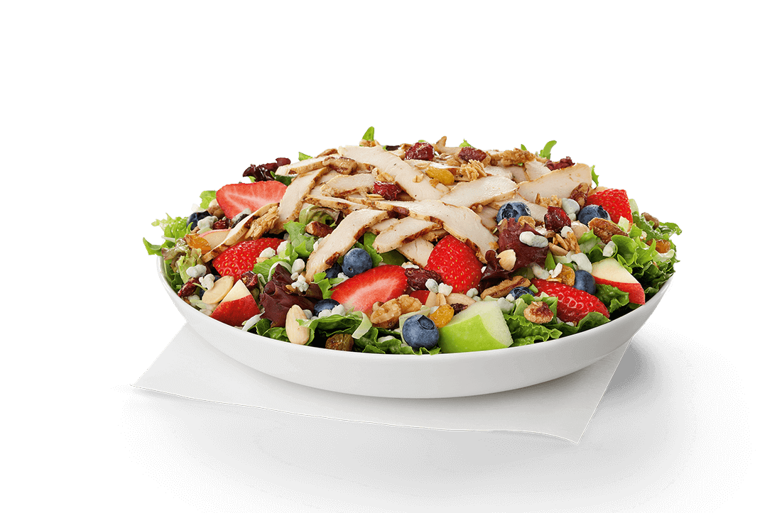 Chick Fil A Market Salad with grilled chicken