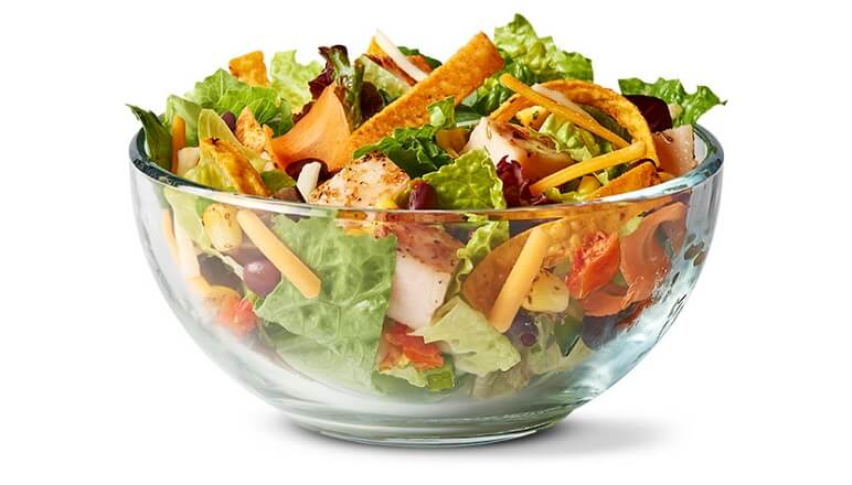 McDonalds Southwest Salad with Grilled Chicken