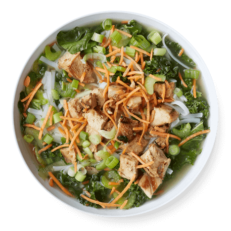 Core Life - Chicken and Rice Noodle Broth Bowl