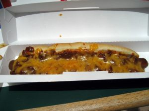 Diary Queen Chili Cheese Dog