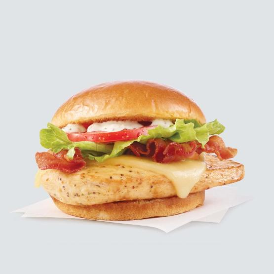 Wendy's Grilled Asiago Ranch Club