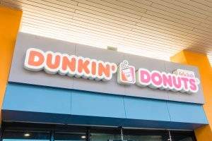 first Dunkin Donuts