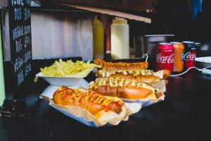 Cook Out hotdogs