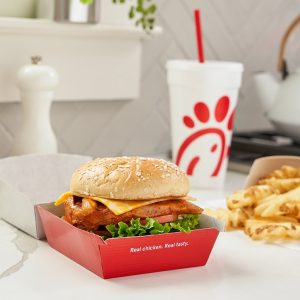 Chick-Fil-A Grilled Spicy Deluxe Sandwich